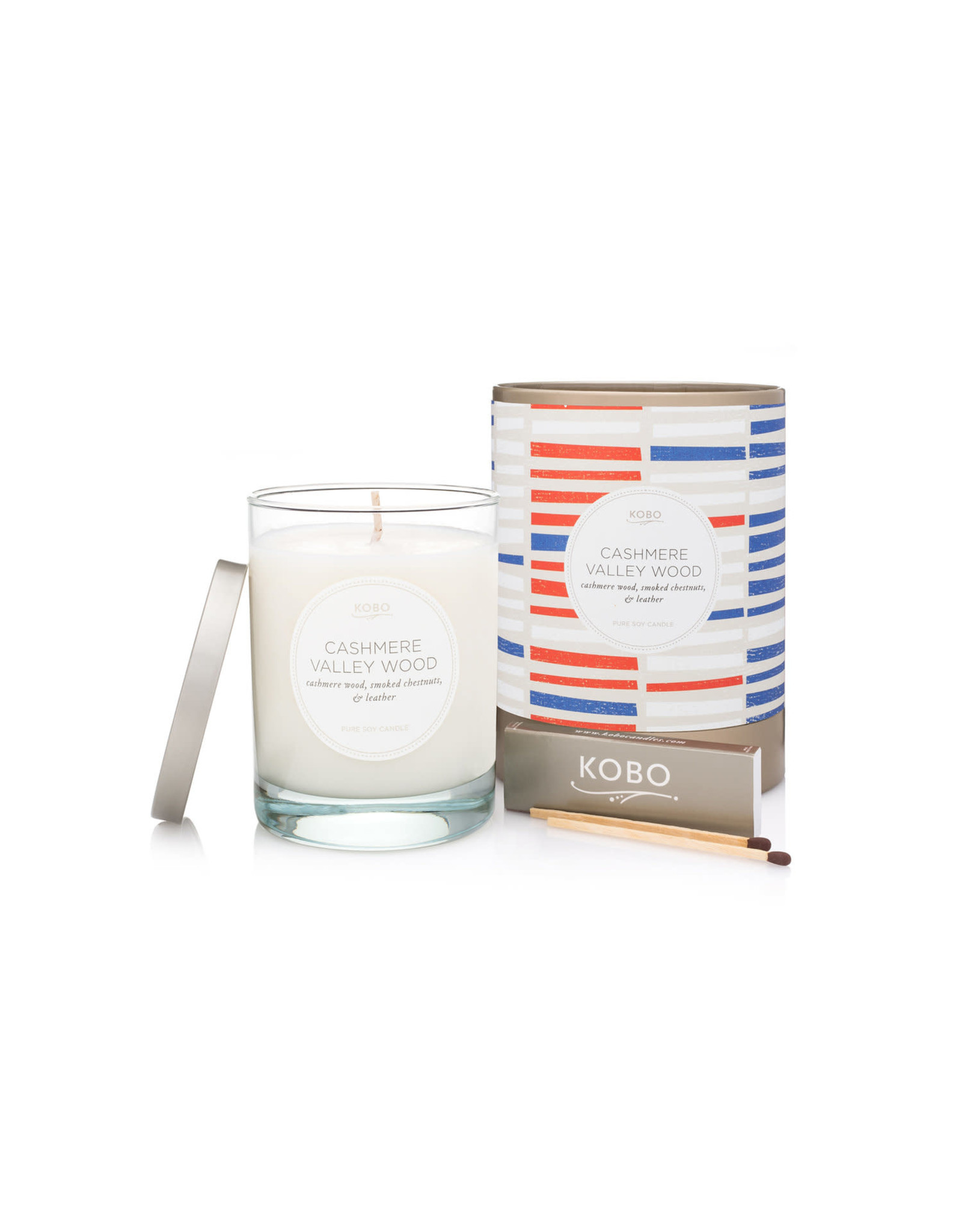 Cashmere Valley Wood Candle
