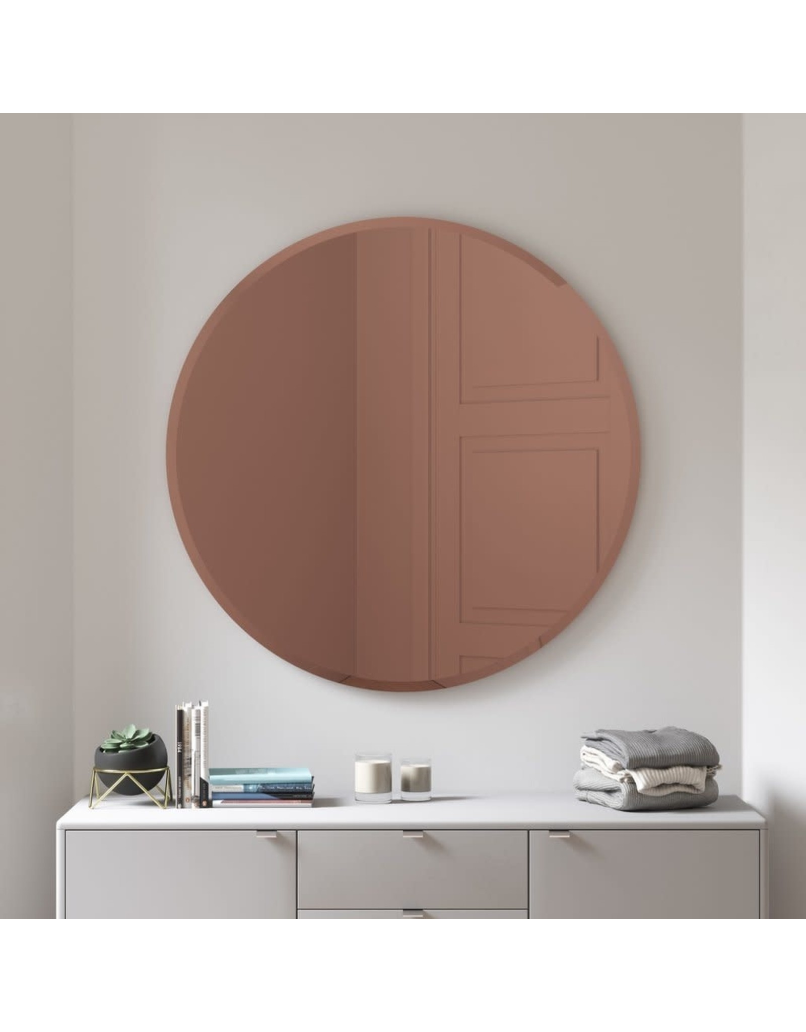 Hub Bevy Wall Mirror 36""