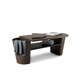 Woodrow Coffee Table in Black-Walnut