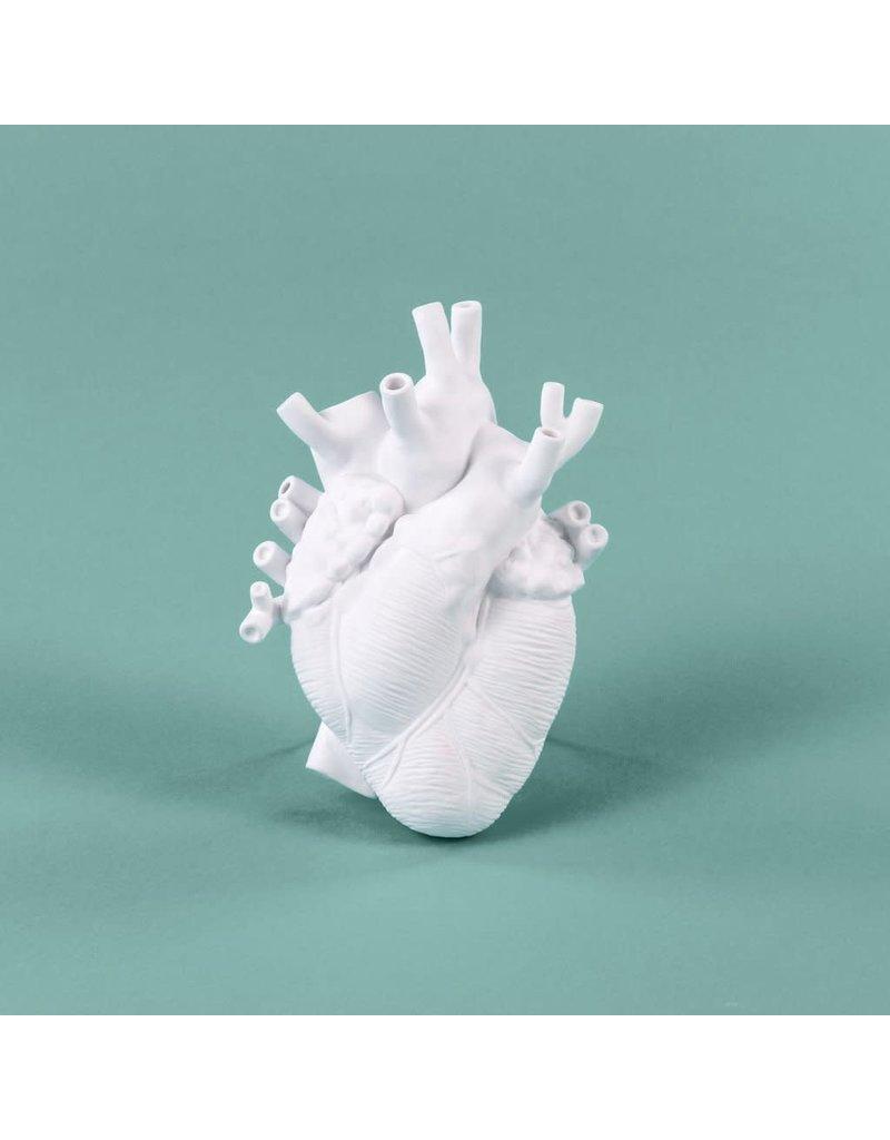 Love in Bloom Porcelain Heart Vase