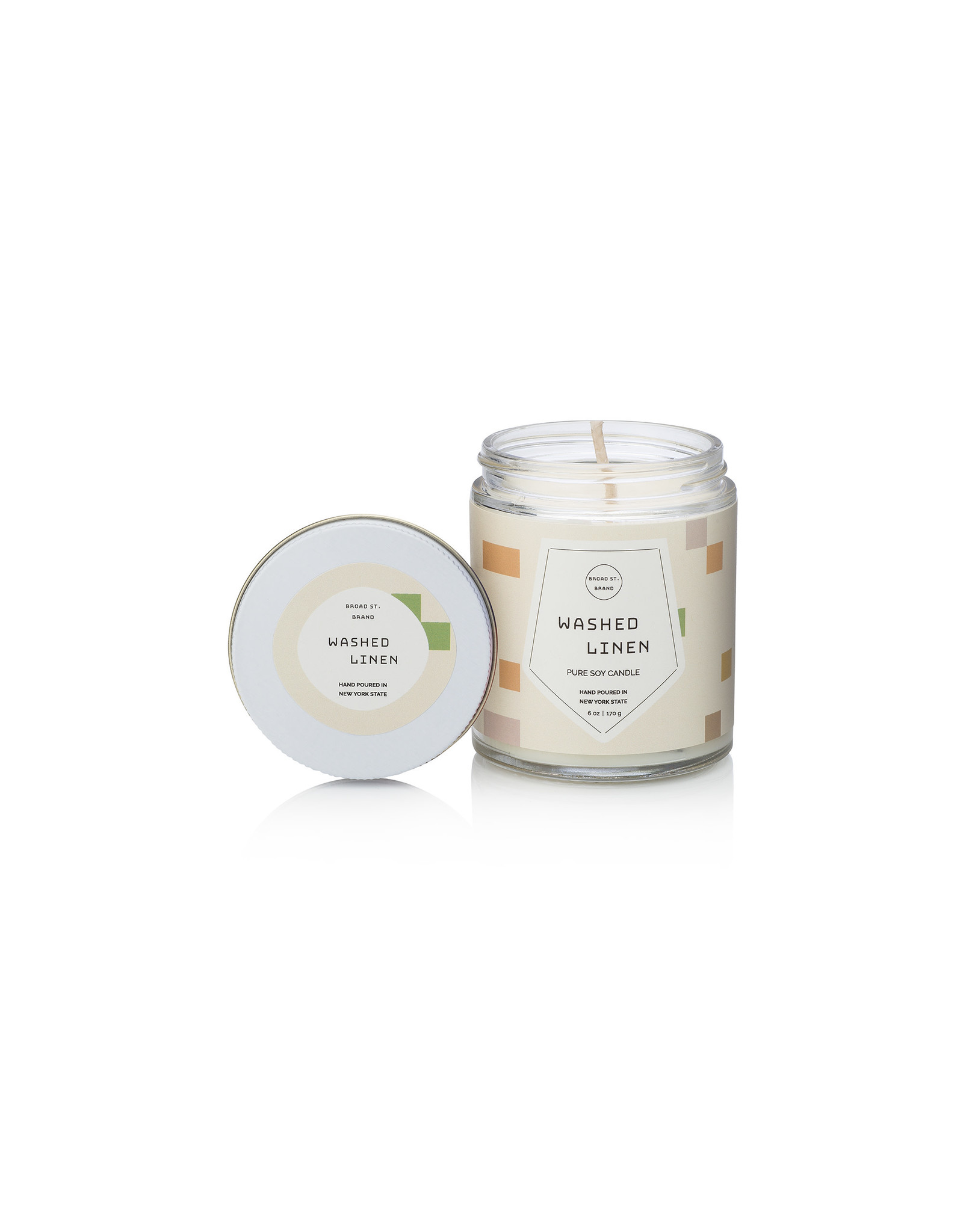 Washed Linen 6oz Candle