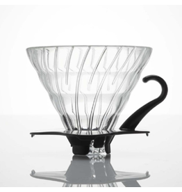 V60 Glass Dripper 02 / Black