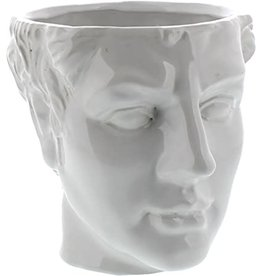 Apollo Ceramic Head Cachepot
