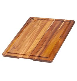 "Teak Edge Grain Cutting Board 18""x14"""