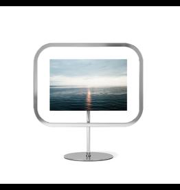 UMBRA Infinity Sqround 4x6 Photo Display in Chrome