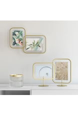 UMBRA Infinity Sqround 4x6 Photo Display in Brass