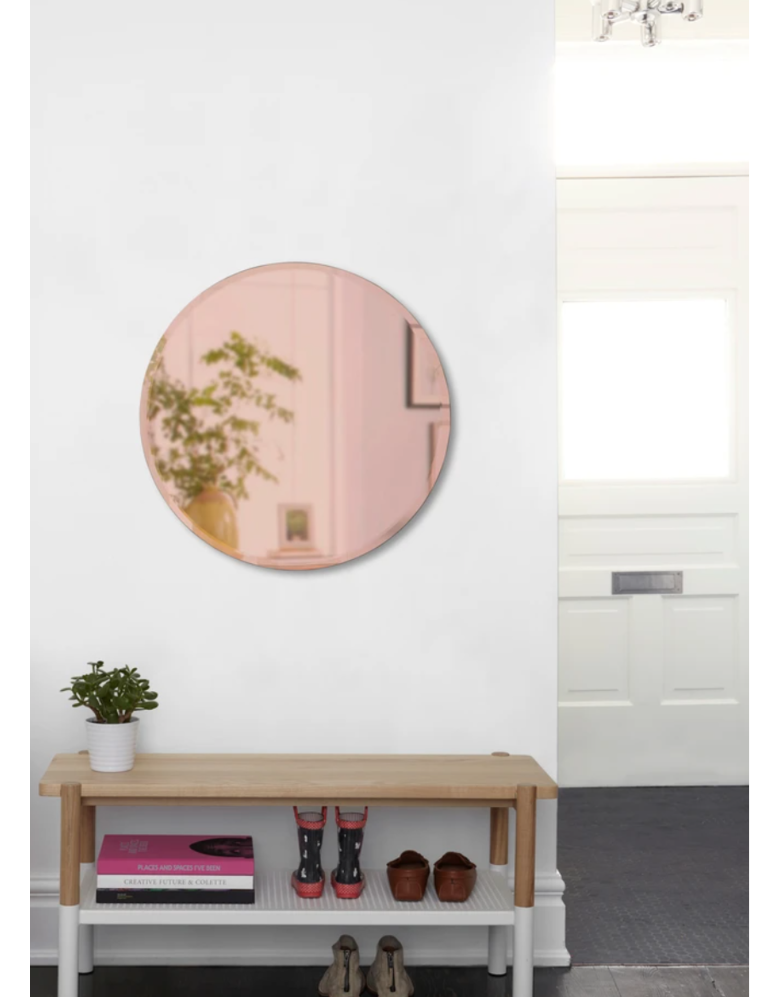 24in Copper Mirror
