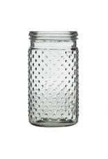 Hobnail Jar Vase - Clear