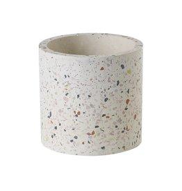 """Terrazzo Vase/Planter - 4.5"""" x 4.5"""""""