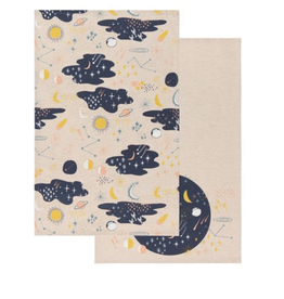 Set of 2 Cosmic Dishtowels
