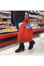 Key Ring Shopping Bag in Red