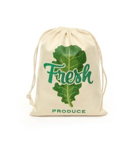 Cotton Mesh Produce Bags - Set of 5