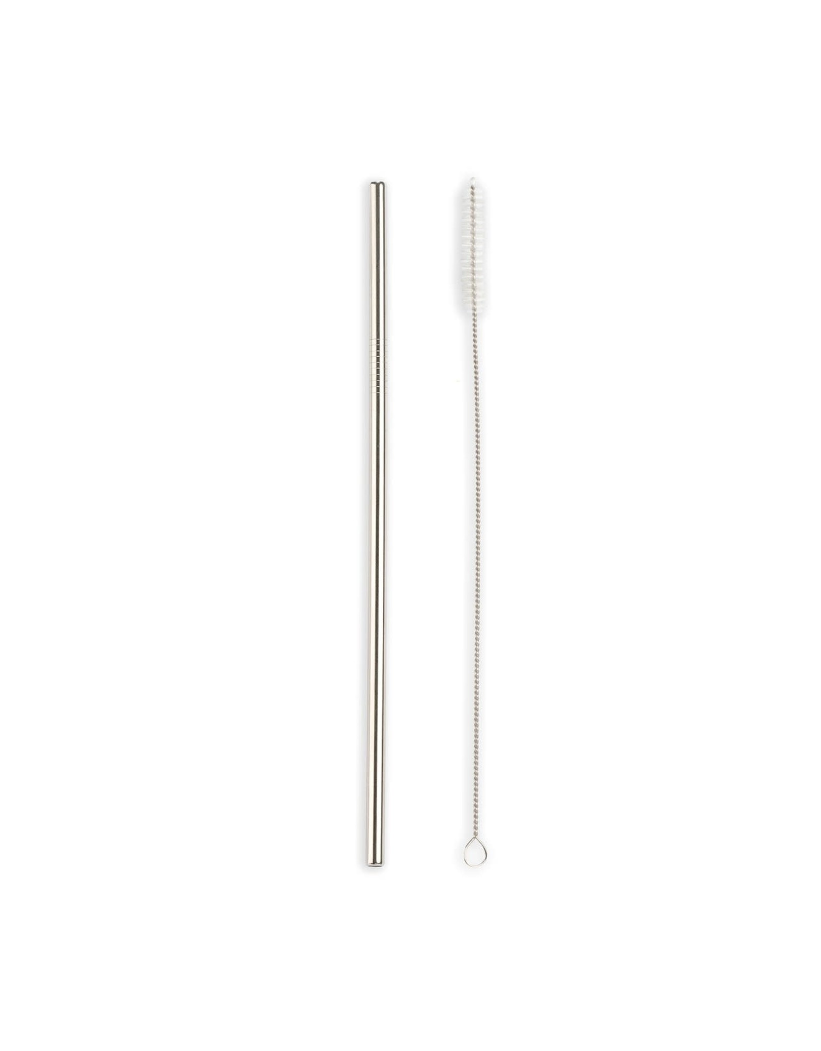 Set of 10 Stainless Steel Straws