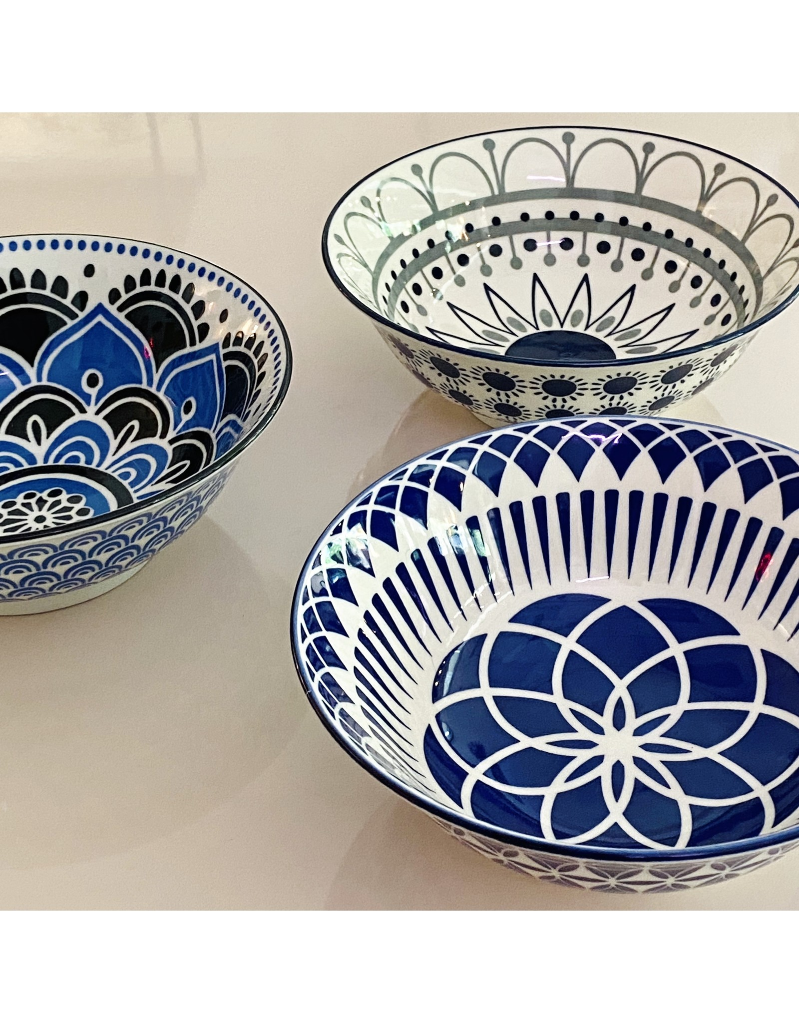"""NOW 8"""" Stamped Bowls"""