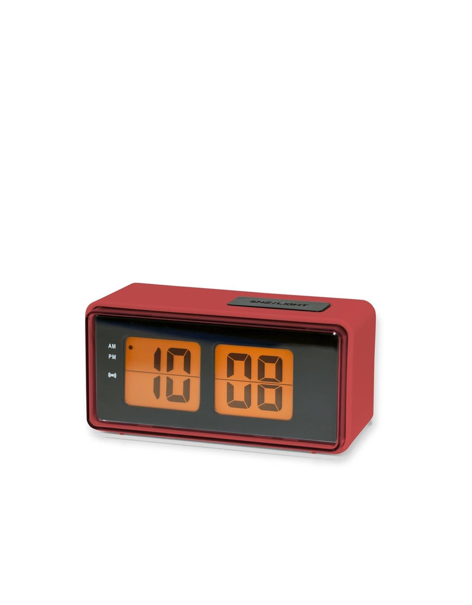KIK Digital Alarm Clock in Red