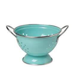 NOW 1qt Colander in Turquoise