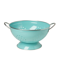NOW 3qt Colander in Turquoise