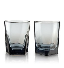 TRB Smoke Double Old Fashioned Glasses - Set of 2
