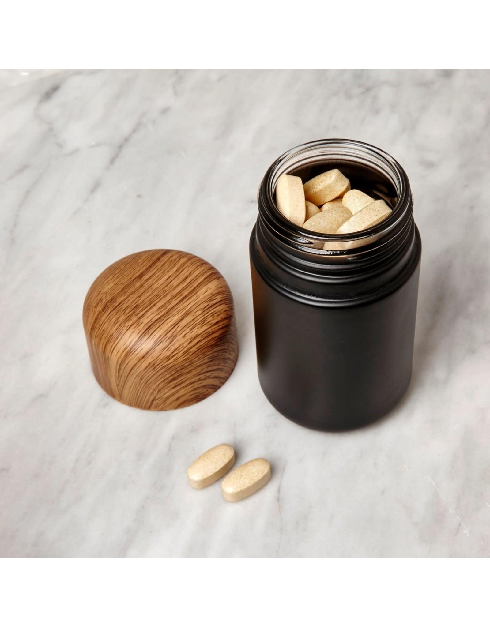 KIK Large Childproof Stash Jar in Black