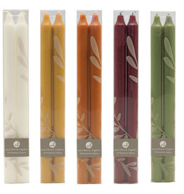 """Northern Lights Candles 12"""" Taper Candle Two-Pack"""