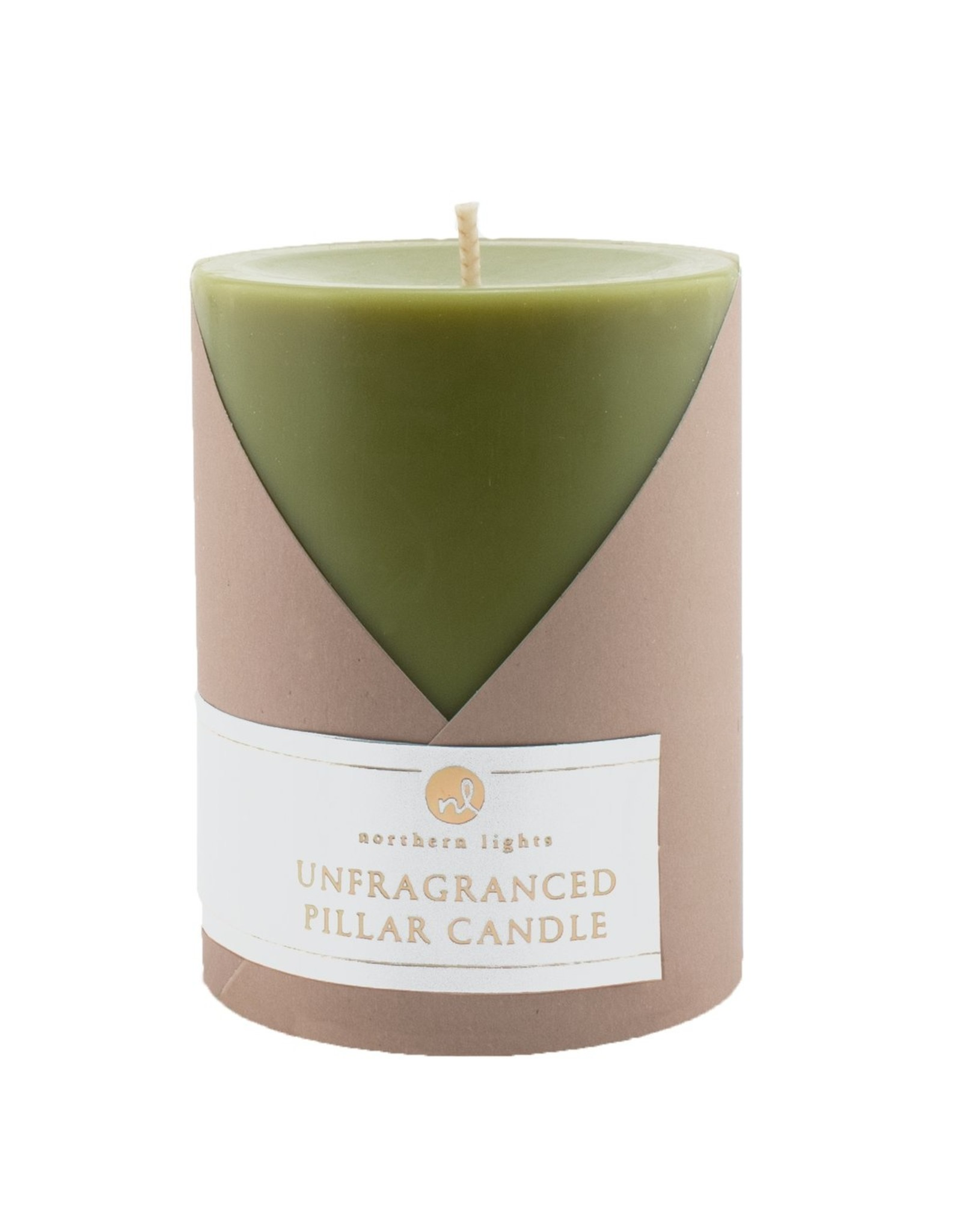 Northern Lights Candles Unscented Pillars