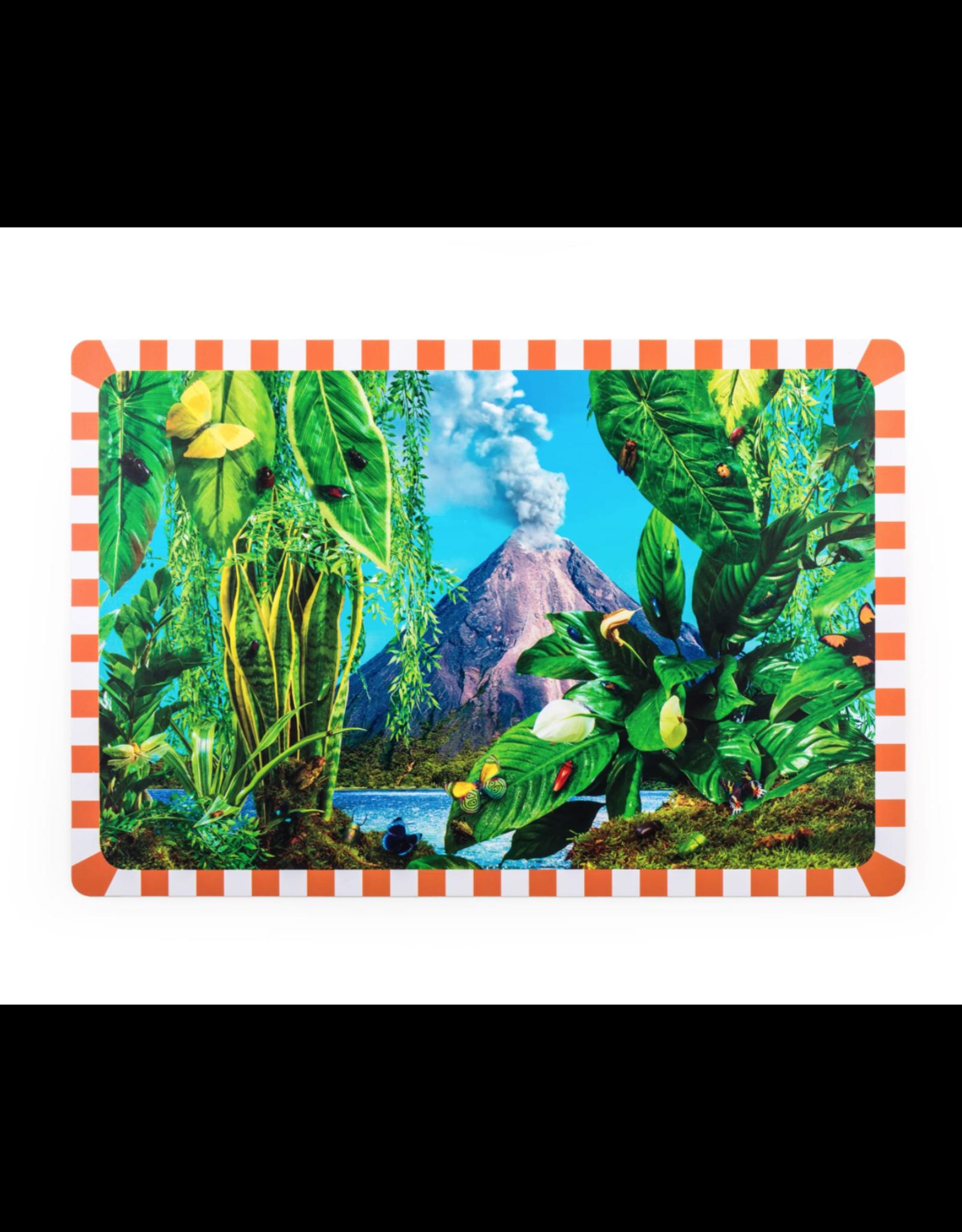 SLT Seletti & Toilet Paper Tablecloth in Volcano
