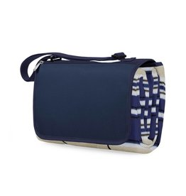 Blanket Tote in Navy Stripe