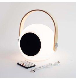 AMPED & CO. Vibe Bluetooth Speaker & LED Lantern