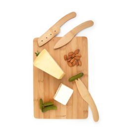 KIK Cut & Serve Bamboo Cheese Board