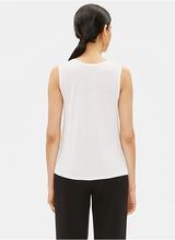Eileen Fisher Silk Jersey Short Shell