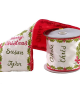 Katherine's Collection Santa's List Ribbon