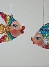 Katherine's Collection Rainbow Kissing Fish