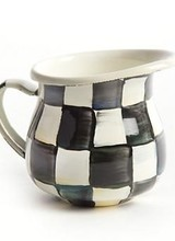 Mackenzie-Childs Courtly Check Little Creamer