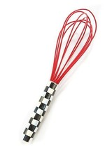 Mackenzie-Childs Red Courtly Check Whisk