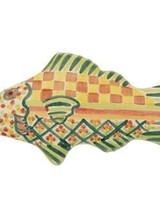 Mackenzie-Childs Fish Knob Left-Green