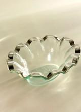 Annie Glass Ruffle Dip Bowl