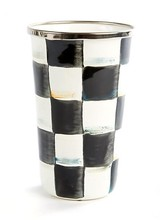 Mackenzie-Childs Courtly Check 10 oz Tumbler