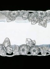 Arthur Court Designs Butterfly Oblong Tray