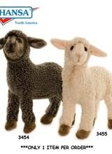 Hansa Toys Usa Sheep Kid Black