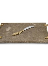 Michael Aram Wheat Cheese Board with Knife