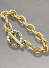 Jay Strongwater Toggle Bracelet