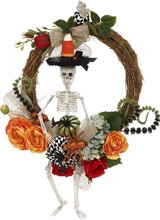 Mark Roberts Skeleton Rose Wreath
