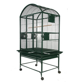 """A&E Black 32""""x23"""" Dome Top Cage with 3/4"""" Bar Spacing"""