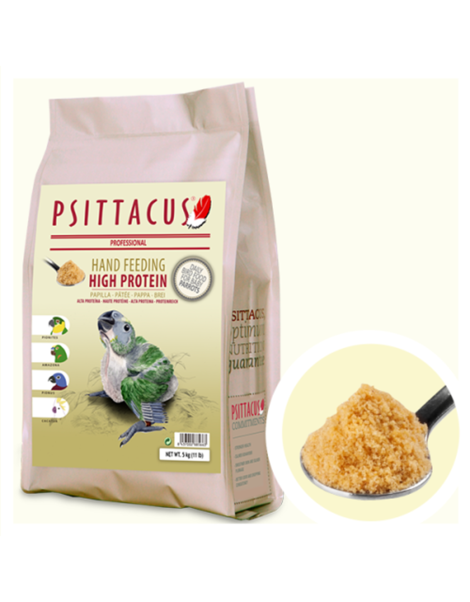 Psittacus HP hand-feeding formula 2.2lbs