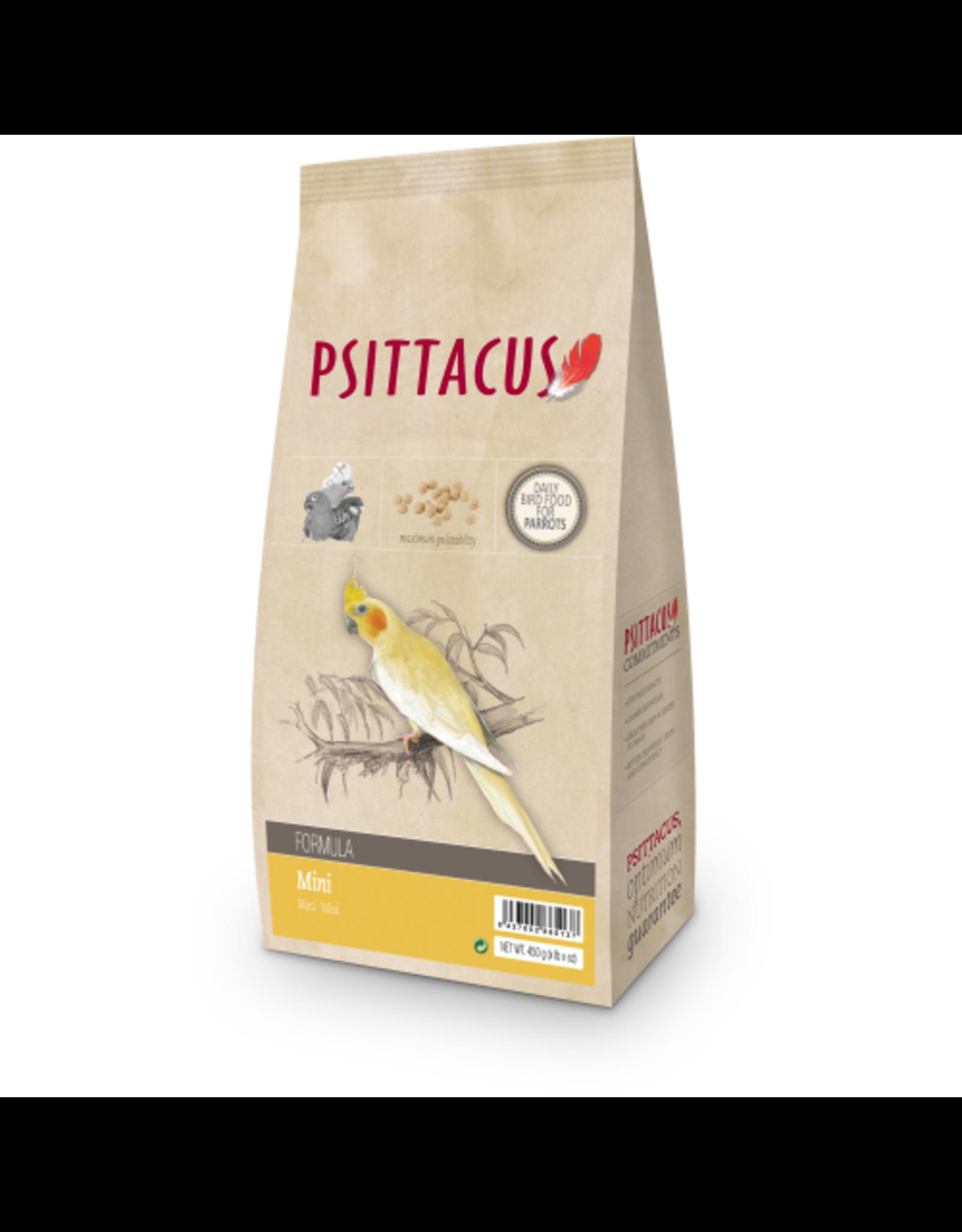 Psittacus maintenance mini formula 450 gr. btw02