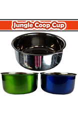 10oz Coop Cup with Ring & Bolt - color box (Stainless Steel)