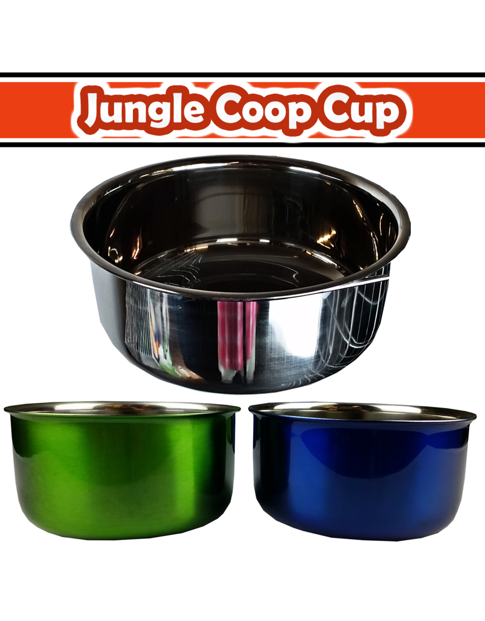 A&E CAGE CO AE COOP CUP W RING/BOLT SS 30Z
