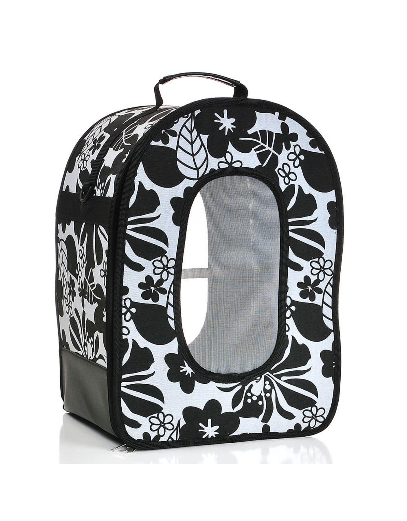 "Soft Sided Travel Carrier - SMALL BLACK 14.5"" x 10.5"" x 7"""