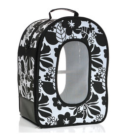 """Soft Sided Travel Carrier - SMALL BLACK 14.5"""" x 10.5"""" x 7"""""""