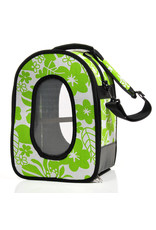 "Soft Sided Travel Carrier - SMALL GREEN 14.5"" x 10.5"" x 7"" -"